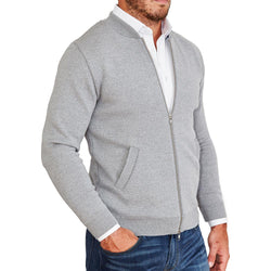 The Grey Sweater Bomber