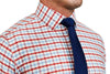 """The Dake"" Red, White and Blue Triple Gingham"