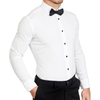 The Solid White Tuxedo Shirt