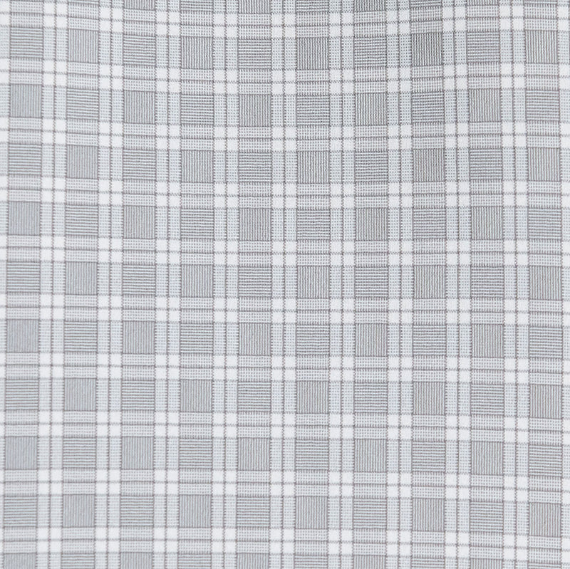 """The Lido"" Grey and White Plaid"