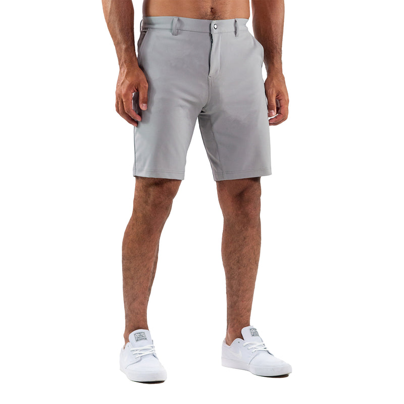 Athletic Fit Shorts - Light Grey