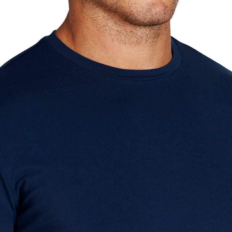 """The Hartford"" Navy Short Sleeve Crewneck"