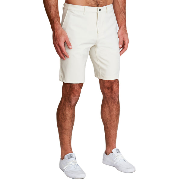 Athletic Fit Shorts - Light Khaki