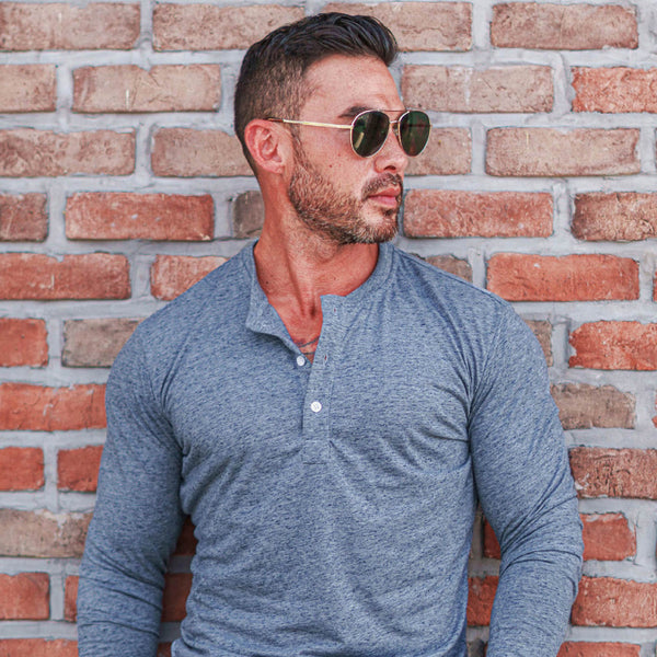 The Spring Henley 3-Pack