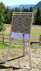 Build Your Own Rag Rug Loom - Downloadable Plans