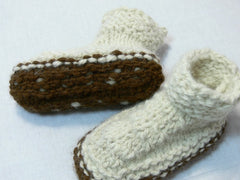 Superwarm 100% Natural Thrummed Slippers