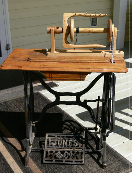 Build Your Own Indian Head Spinning Wheel Downloadable
