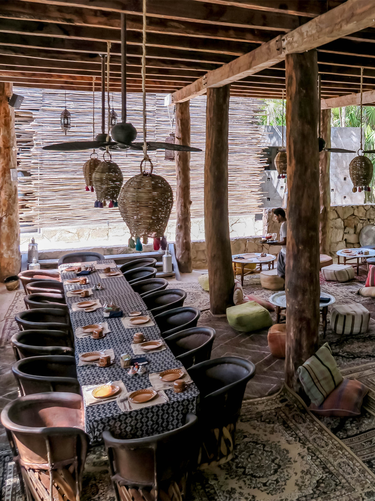 Nomade Tulum breakfast