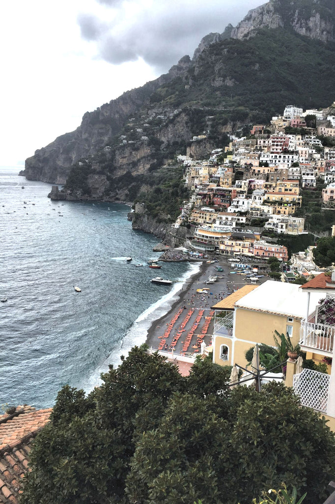 cafe view positano
