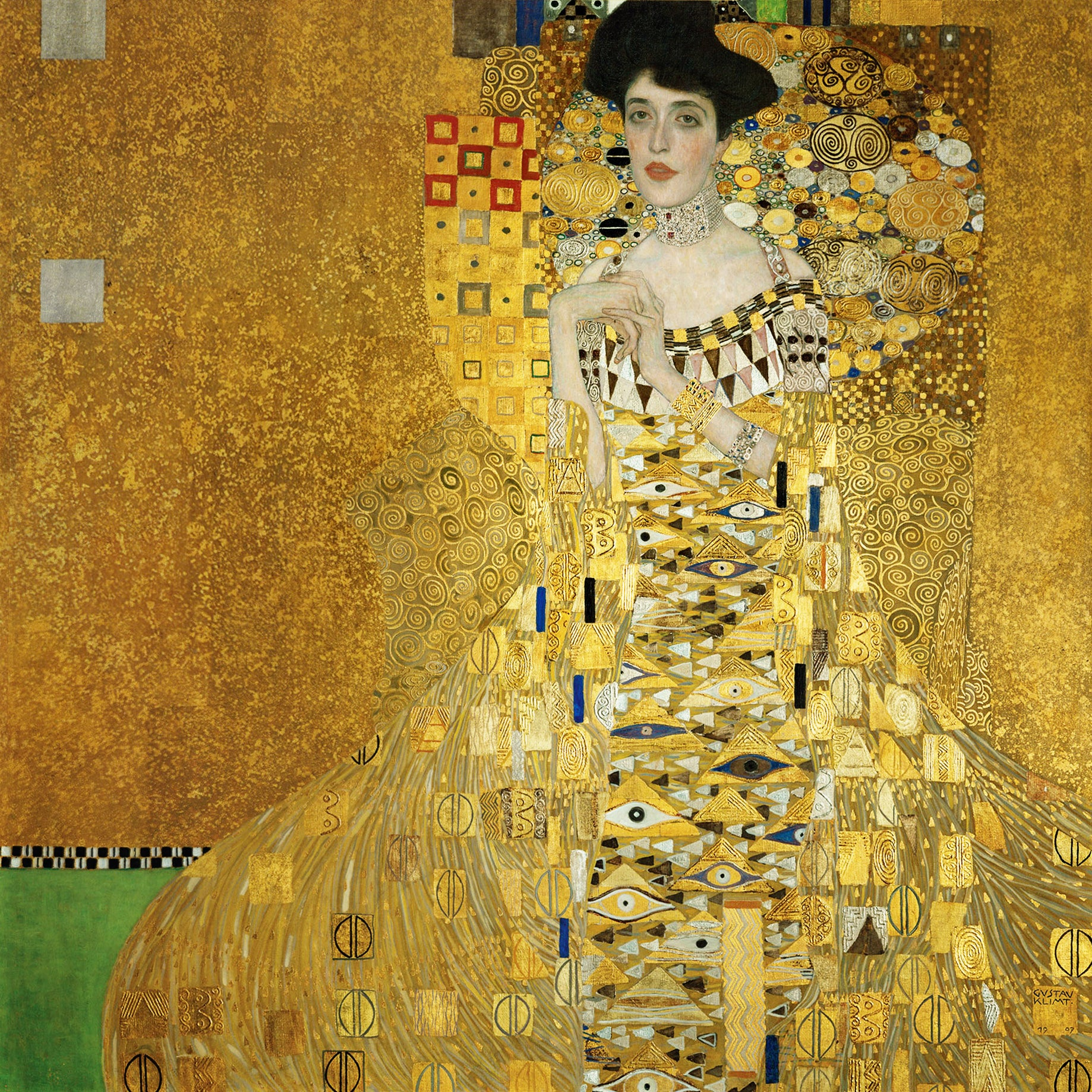 Portrait of Adele Bloch-Bauer by Gustav Klint