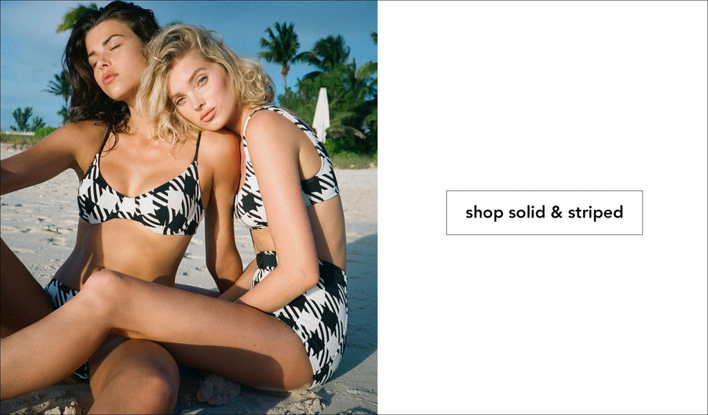 Shop Solid & Striped Swimwear