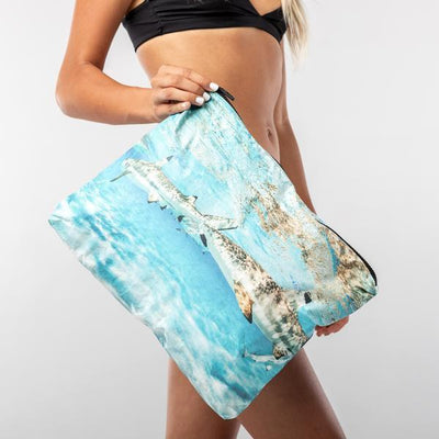 Aloha Collection Max Tahiti sharks Samudra x Aloha pouch