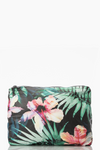 Aloha Hibiscus Palm Mid pouch