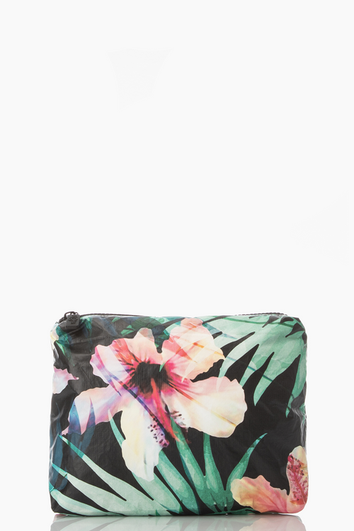 Aloha Hibiscus Palm Small pouch