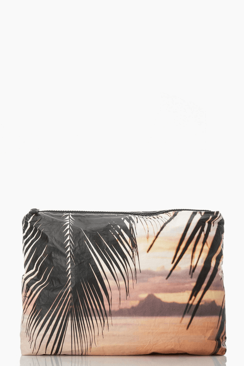 ALOHA Moorea Sunset mid size pouch