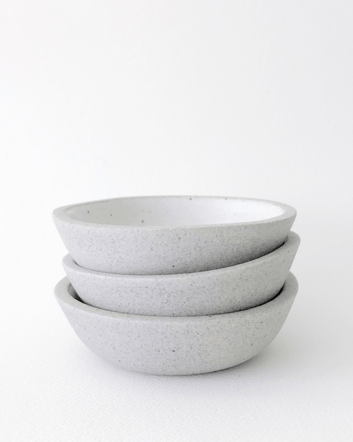 Humble Ceramics Stillness Bowl SOS greystone