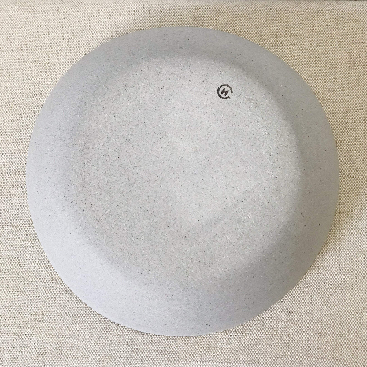 Humble Ceramics Stillness bowl greystone / snow white
