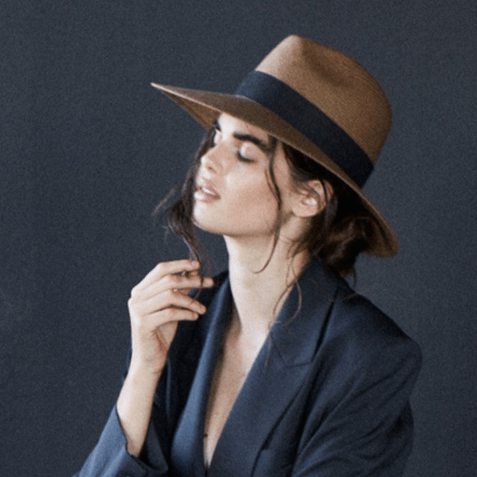 Janessa Leoné Corbin packable hat