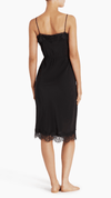 Little Joe Woman The Seeker silk slip dress in black