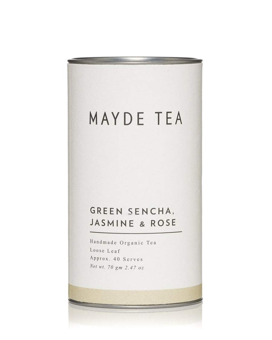 Mayde Tea Green sencha, jasmine & rose