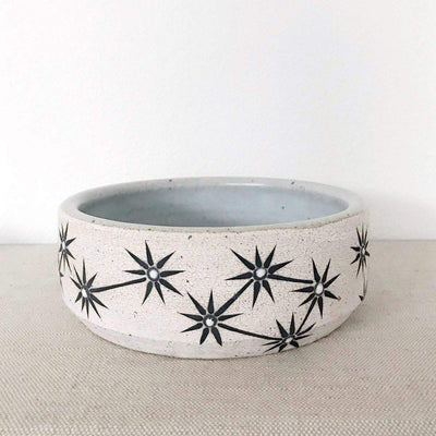 MQuan Dog bowl in constellations