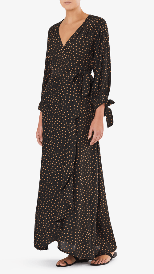Natalie Martin Danika long sleeve dress