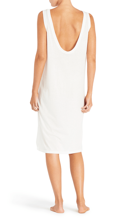 Olympia Activewear Calix cotton dress in powder