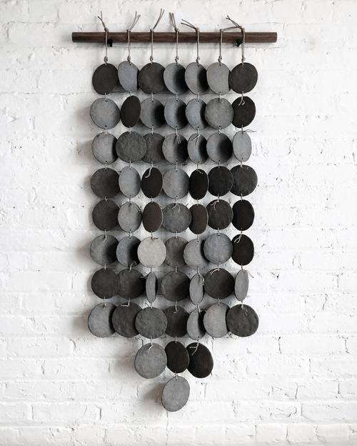 MQuan Grey PLT7 disc wall hanging