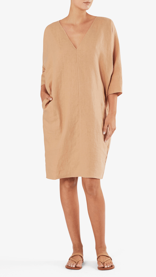 Rachel Craven Gwathmey dress in pink sand