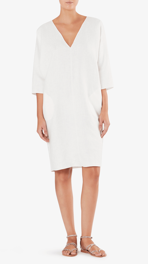 RACHEL CRAVEN Linen Gwathmey dress