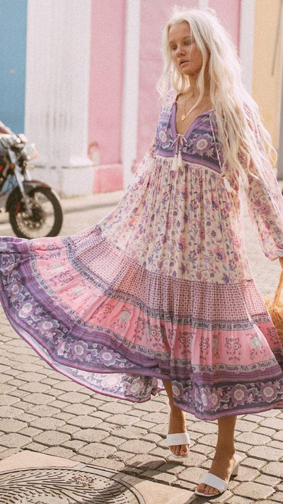 SPELL Portobello road boho dress