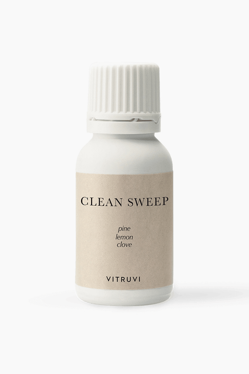 Vitruvi Clean sweep blend essential oils