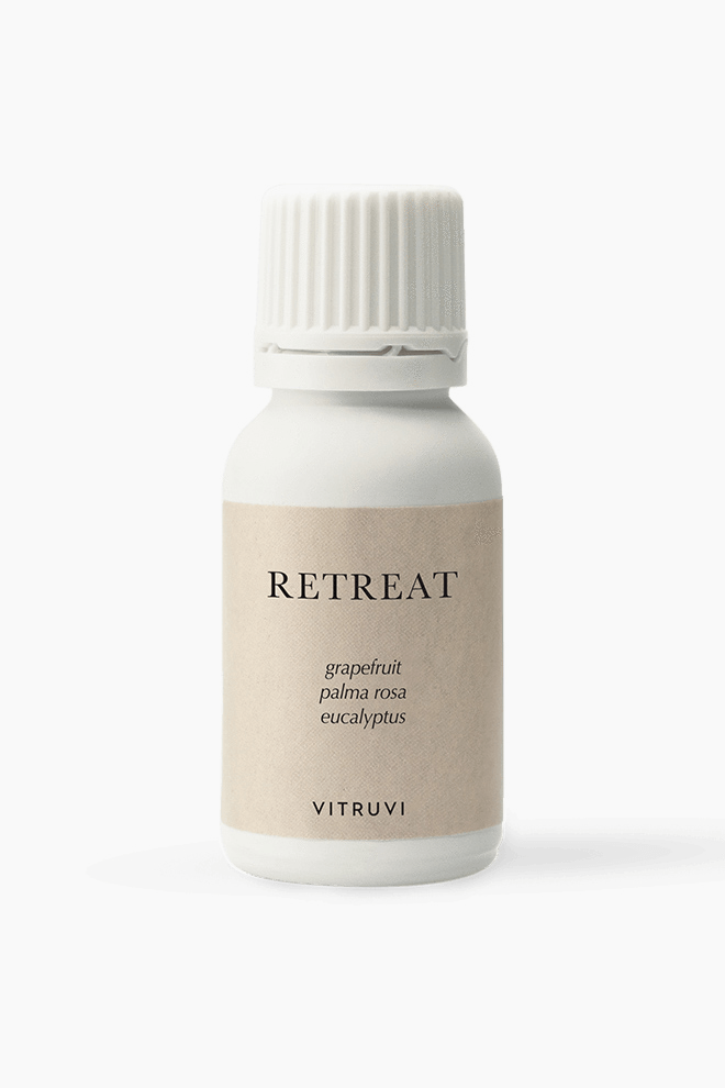 Vitruvi Retreat blend essential oils