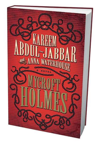 ORDER NOW! Autographed* Mycroft Holmes Hardcover by Kareem Abdul-Jabbar