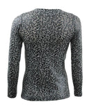WTR2-Long Sleeve Leopard Printed Top - GIRO