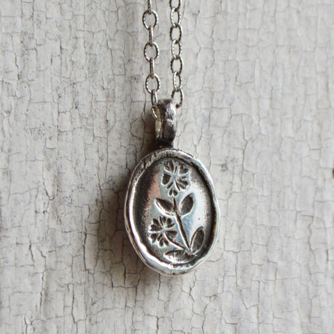 Chickweed Botanical Necklace