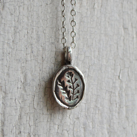 Shepherd's Purse Botanical Necklace