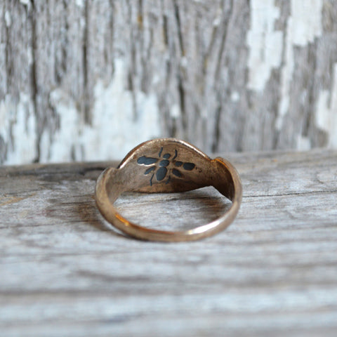 Wood Sorrel Botanical Ring