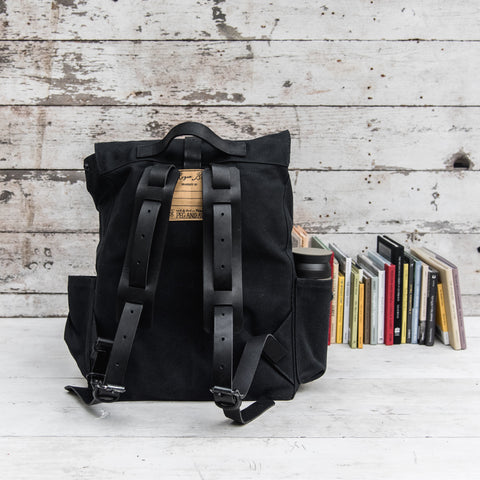 All Black Rogue Backpack