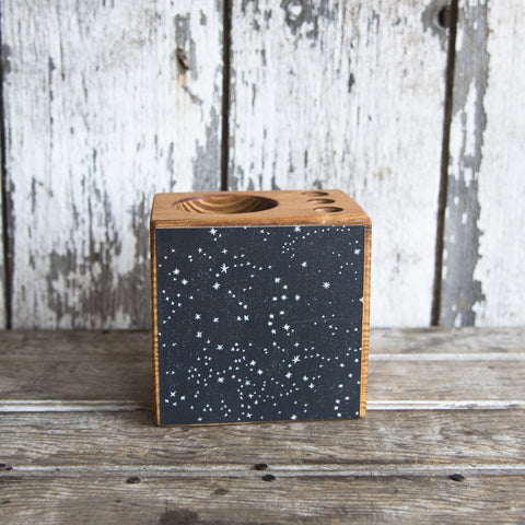 Small Zodiac Desk Caddy: No. 1 Stars