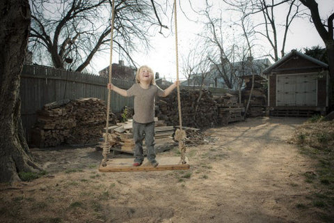 Olde-Fashioned Tree Swing