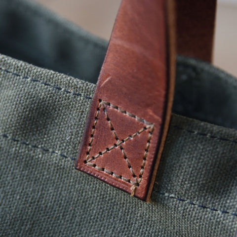 Waxed Canvas Tote