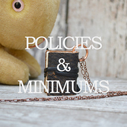 Policies + Minimums
