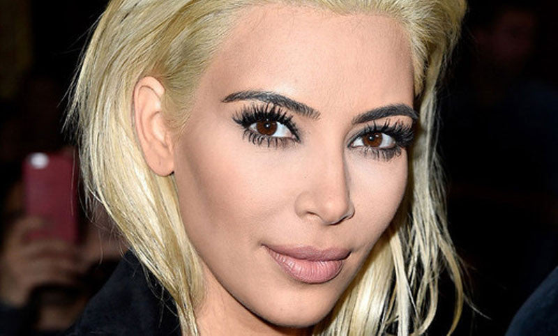 Hair Color Tips to Consider Before Trying Kim Kardashian's Ice Princess Do