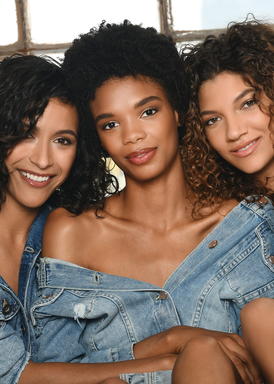 SOTAH Summer 2018 Campaign - Models with Various Hair Types Wearing Denim
