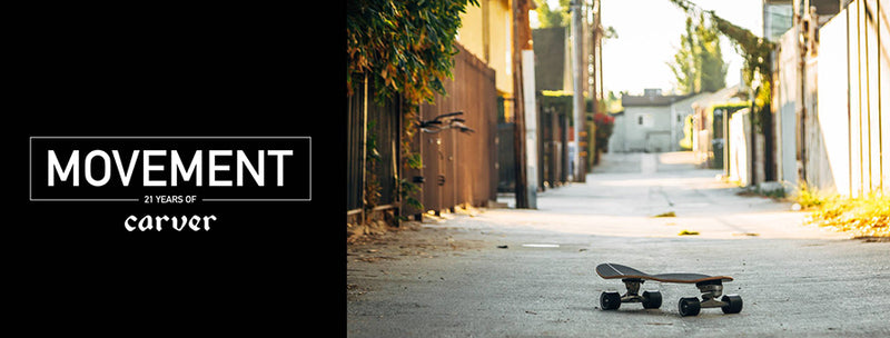 MOVEMENT: 21 Years of Carver, el nuevo documental de Carver Skateboards