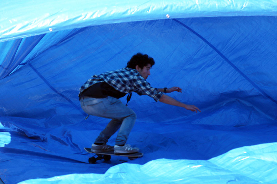 tarp surfing surfcity barcelona 2016 surfskate feeling it