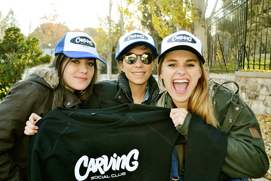 chicas del carving social club