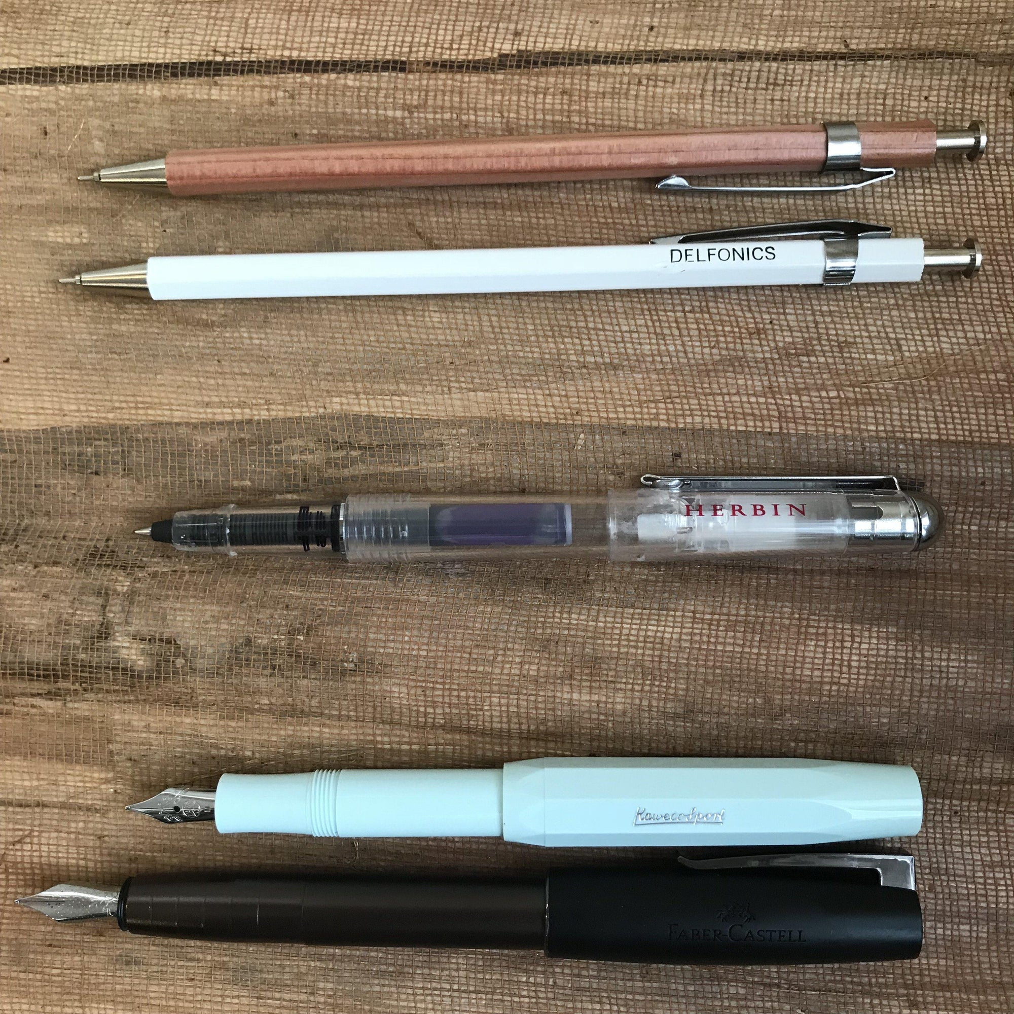 What The Ink? The Difference Between a Rollerball, Ballpoint, and Fountain Pen