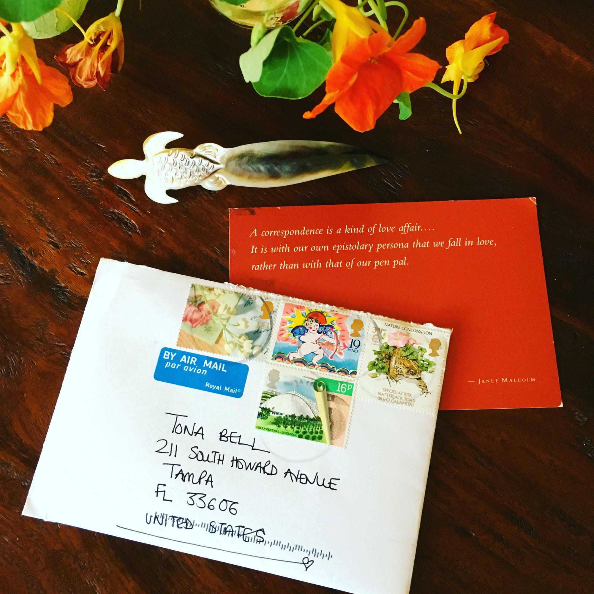 My 30 Cards & Letters In 30 Days: What I Learned to Keep In Touch More